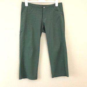 Patagonia Women Size 10 Pant Crop Green Stretch